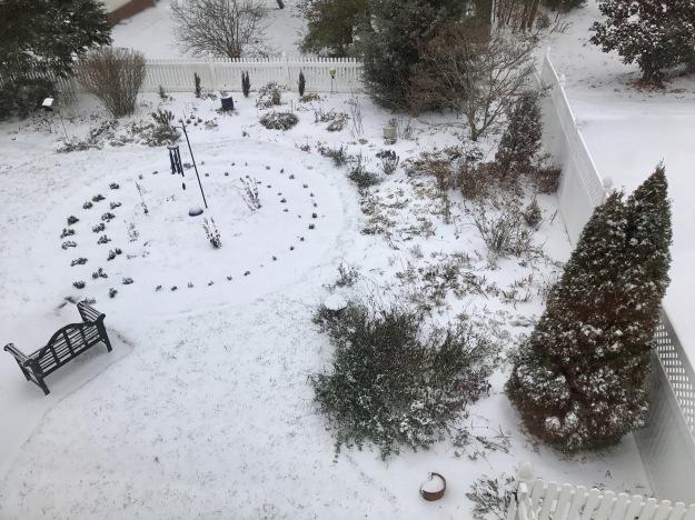 Snowy Meditation Path