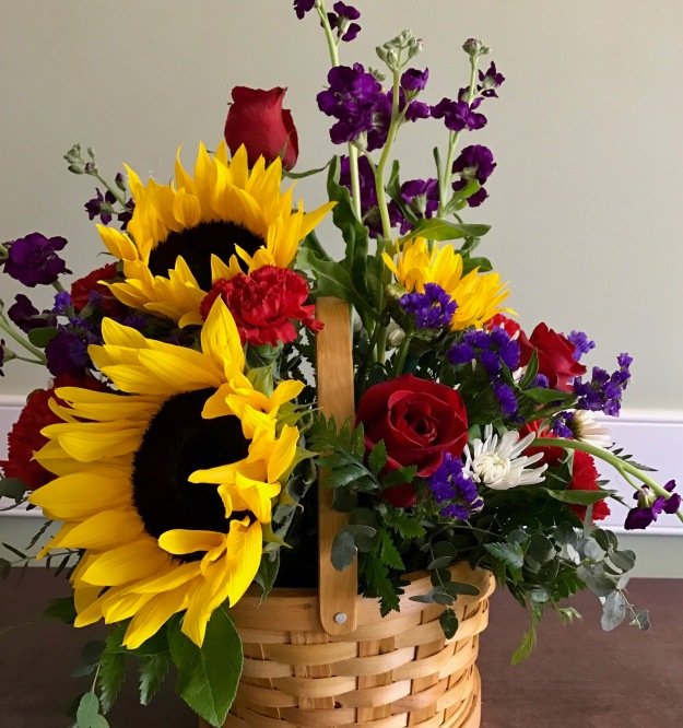 In A Vase On Monday - Basket Of Cheer