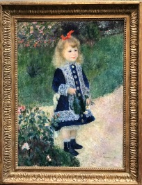 A Girl With A Watering Can, 1876, Auguste Renoir