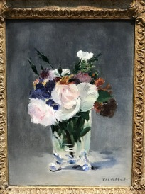 Flowers In A Crystal Vase, Edward Manet, c. 1882
