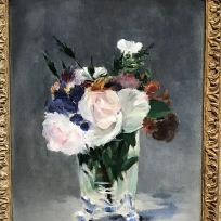 Flowers In A Crystal Vase, Edward Manet, c. 1882