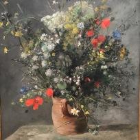 Flowers In A Vase, Auguste Renoir, 1866