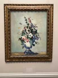 Paul Cézanne, Flowers in a Rococo Vase (ca. 1876)