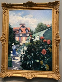 The Garden at Petit Gennevilliers, 1893 by Gustave Caillebotte