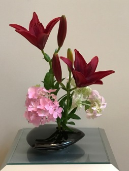 Vase With Lily -Jun 4, 2018