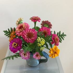 Old-Fashioned Blooms -July 23, 2018