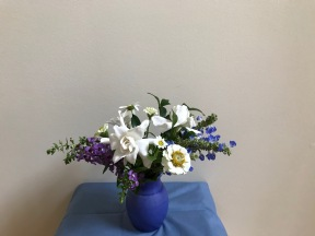 Blue And White In Autumn -September 24, 2018